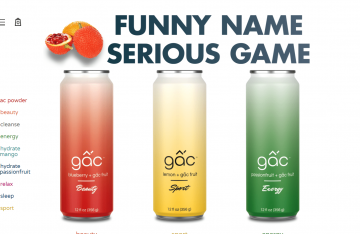 Gac Fruit Juice